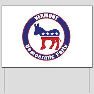 Vermont Democratic Party Original Yard Sign