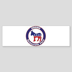 Virginia Democratic Party Original Bumper Sticker