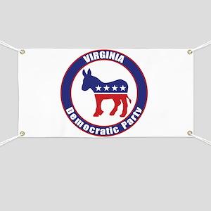 Virginia Democratic Party Original Banner