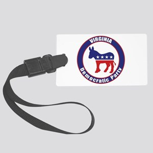 Virginia Democratic Party Original Luggage Tag