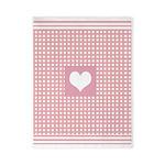 Romantic pink checkered Twin Duvet