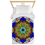 Colorful Stained Glass Twin Duvet