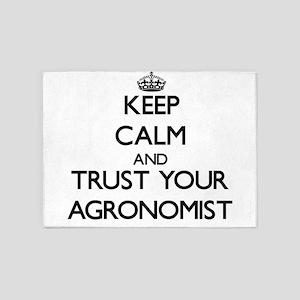 Keep Calm and Trust Your Agronomist 5'x7'Area Rug