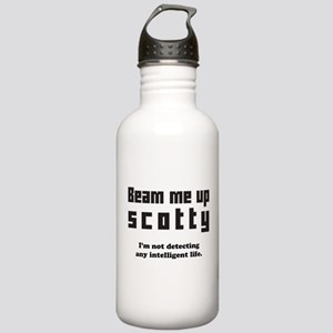 beam me up scotty Water Bottle