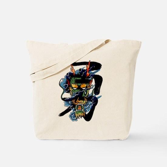 brave dragon Tote Bag