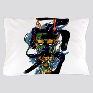 brave dragon Pillow Case