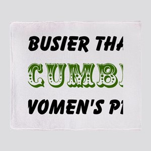 cucumber in a womens prison2 Throw Blanket