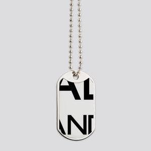 Keep Calm and Trust Your Anesasiologist Dog Tags