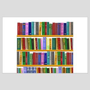The Bookshelf Large Poster