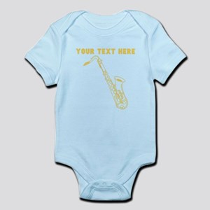 Custom Gold Saxophone Body Suit