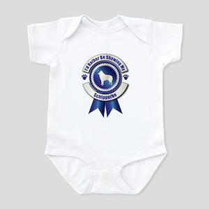 Showing Schipperke Infant Bodysuit