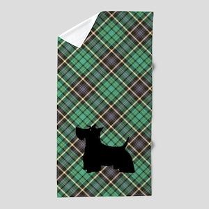 Scottish Terrier Beach Towel