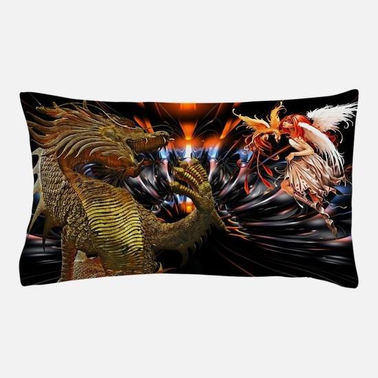Dragon Style Pillow Case