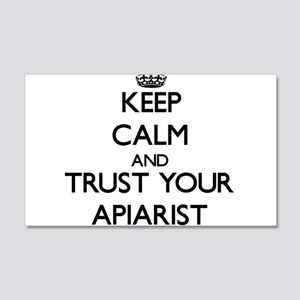 Keep Calm and Trust Your Apiarist Wall Decal