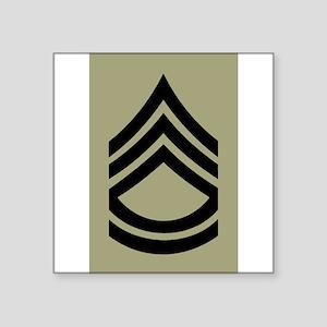Army-SFC-Olive-Sticker Sticker
