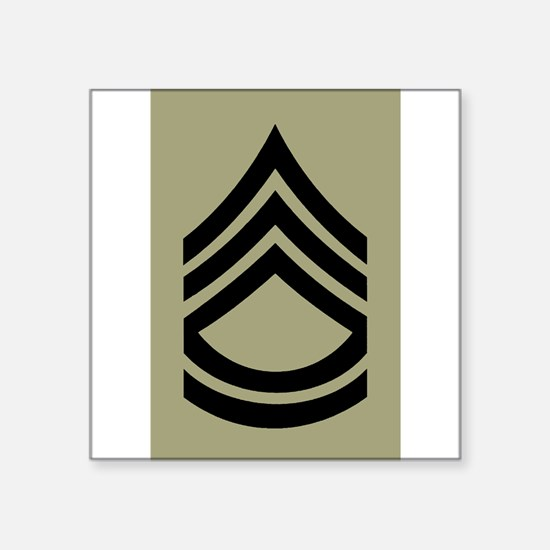Army-SFC-Olive-Sticker Sticker