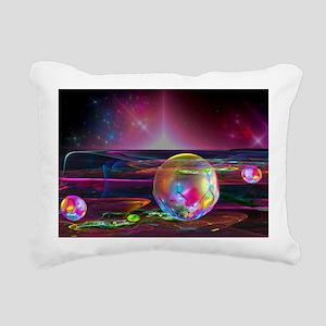 Fractal Art Rectangular Canvas Pillow