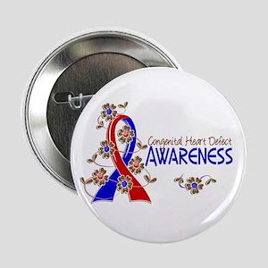 """CHD Awareness 6 2.25"""" Button"""