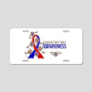CHD Awareness 6 Aluminum License Plate
