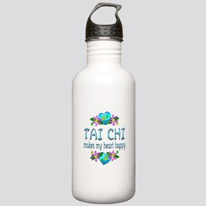 Tai Chi Heart Happy Stainless Water Bottle 1.0L