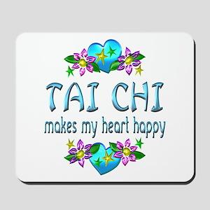 Tai Chi Heart Happy Mousepad