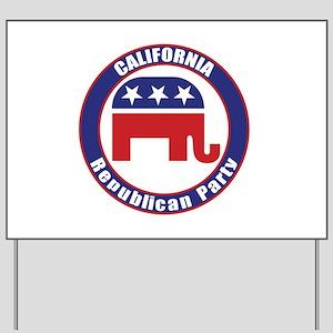California Republican Party Original Yard Sign