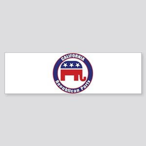 California Republican Party Original Bumper Sticke