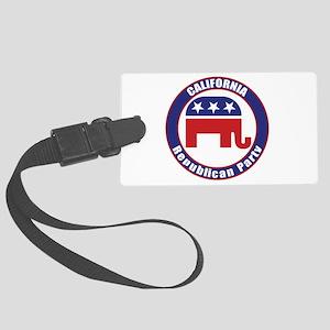 California Republican Party Original Luggage Tag