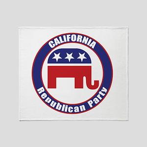 California Republican Party Original Throw Blanket