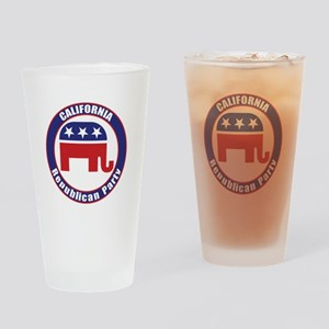 California Republican Party Original Drinking Glas