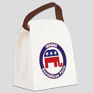 Indiana Republican Party Original Canvas Lunch Bag