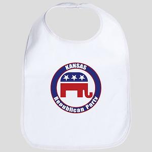 Kansas Republican Party Original Bib