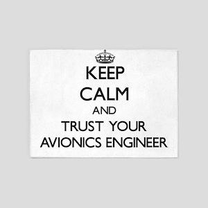 Keep Calm and Trust Your Avionics Engineer 5'x7'Ar