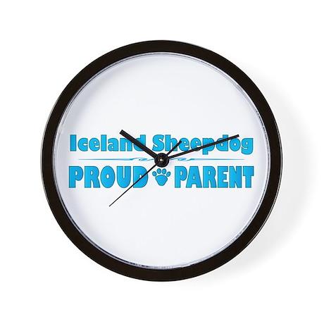 Sheepdog Parent Wall Clock