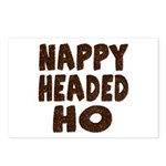 Nappy Headed Ho Hairy Design Postcards (Package of