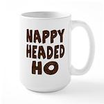 Nappy Headed Ho Hairy Design Large Mug