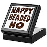 Nappy Headed Ho Hairy Design Keepsake Box