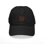 Nappy Headed Ho Hairy Design Black Cap