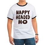 Nappy Headed Ho Hairy Design Ringer T