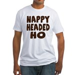 Nappy Headed Ho Hairy Design Fitted T-Shirt