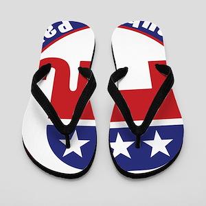 South Dakota Republican Party Original Flip Flops