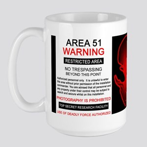 Area 51 Designs Large Mug