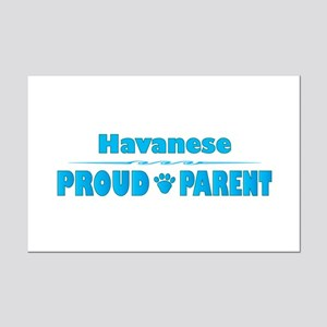 Havanese Parent Mini Poster Print