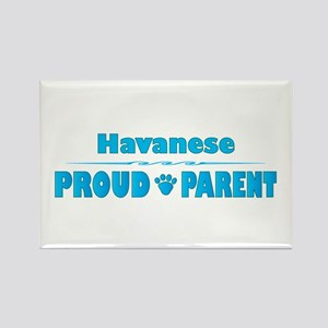 Havanese Parent Rectangle Magnet