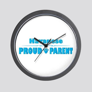 Havanese Parent Wall Clock