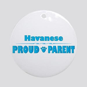 Havanese Parent Ornament (Round)