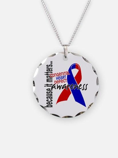 CHD Awareness 1 Necklace