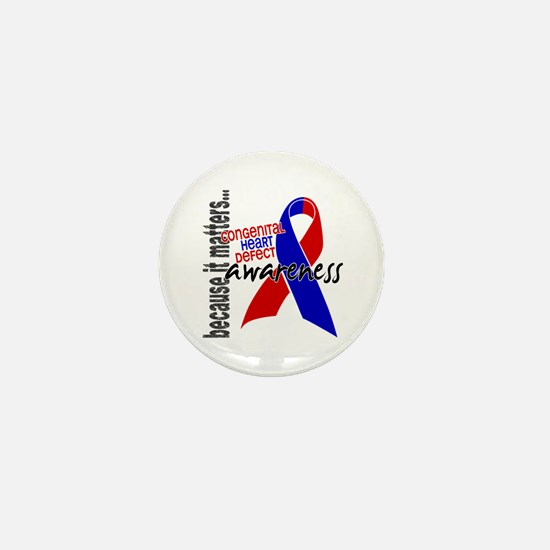 CHD Awareness 1 Mini Button