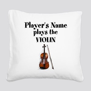 Personalize this Design Square Canvas Pillow