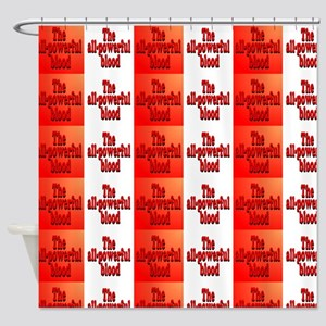 All-Powerful Blood Shower Curtain
